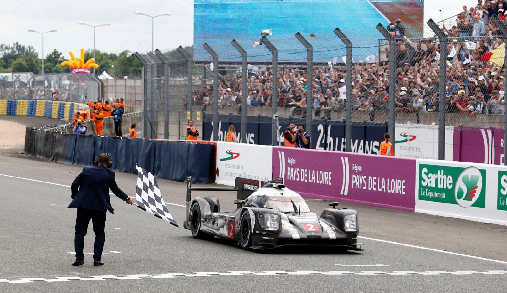 Porsche at Le Mans 2016.