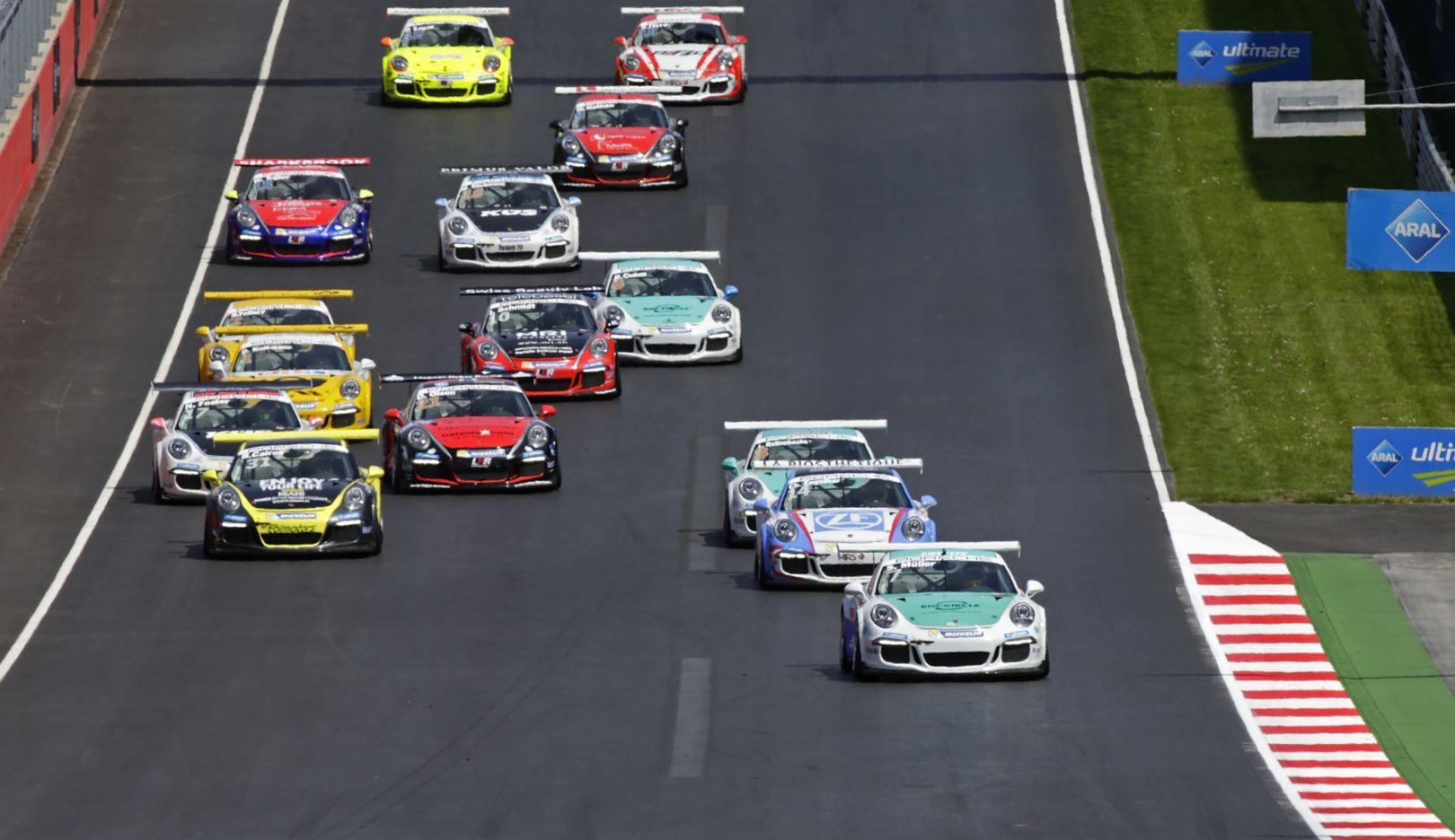 Porsche Carrera Cup Deutschland, Spielberg, 2016, Porsche AG