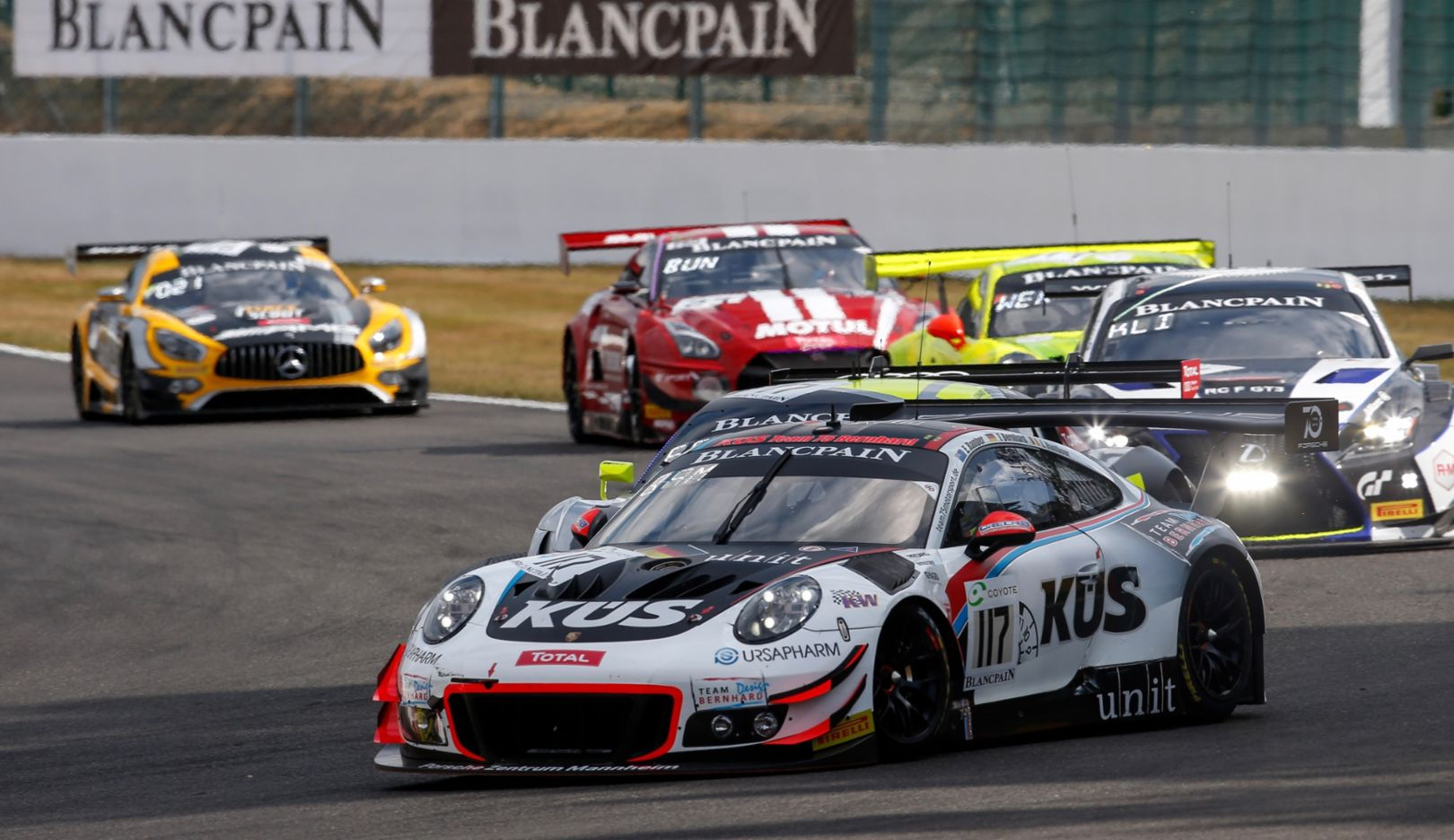 911 GT3 R, KÜS Team75 Bernhard, Timo Bernhard, Earl Bamber, Laurens Vanthoor, Spa-Francorchamps, 2018, Porsche AG