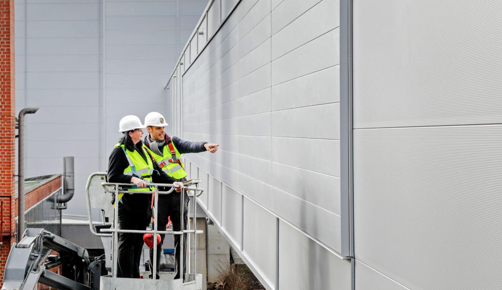 Завод с нулевыми выбросами СО2, производство модели Taycan, Цуффенхаузен, 2019, Porsche AG