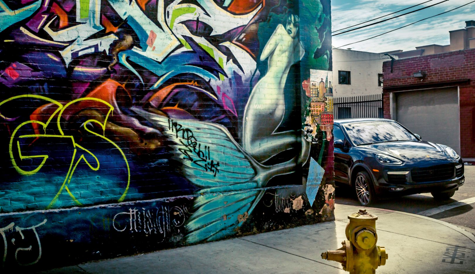 Cayenne, Los Angeles, 2016, Porsche AG