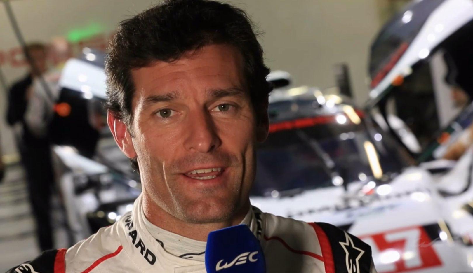 Mark Webber, Werksfahrer, Fuji, 2015, Porsche AG