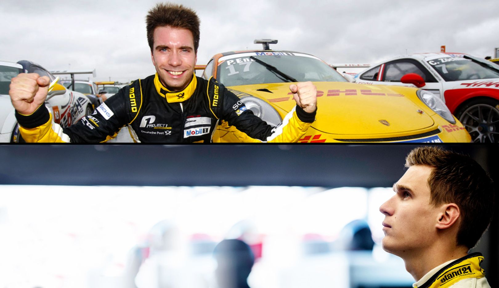 Philipp Eng, Nick Catsburg, 2015, Porsche AG