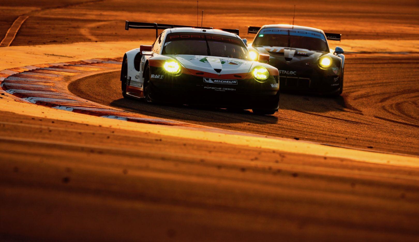 911 RSR, WEC, Bahrain, qualifying, 2017, Porsche AG