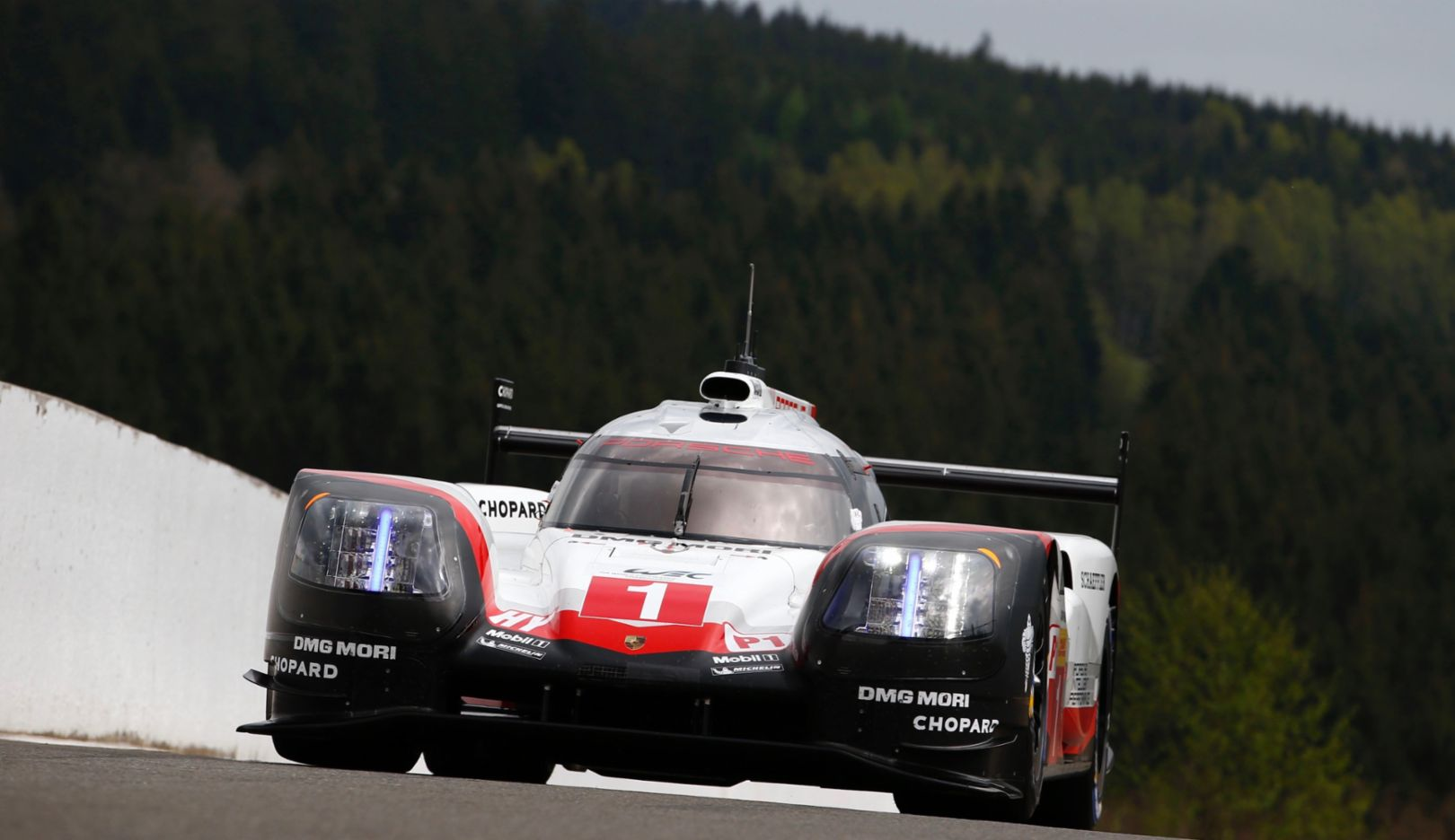 919 Hybrid, WEC, Qualifying, Spa-Francorchamps, Belgium, 2017, Porsche AG