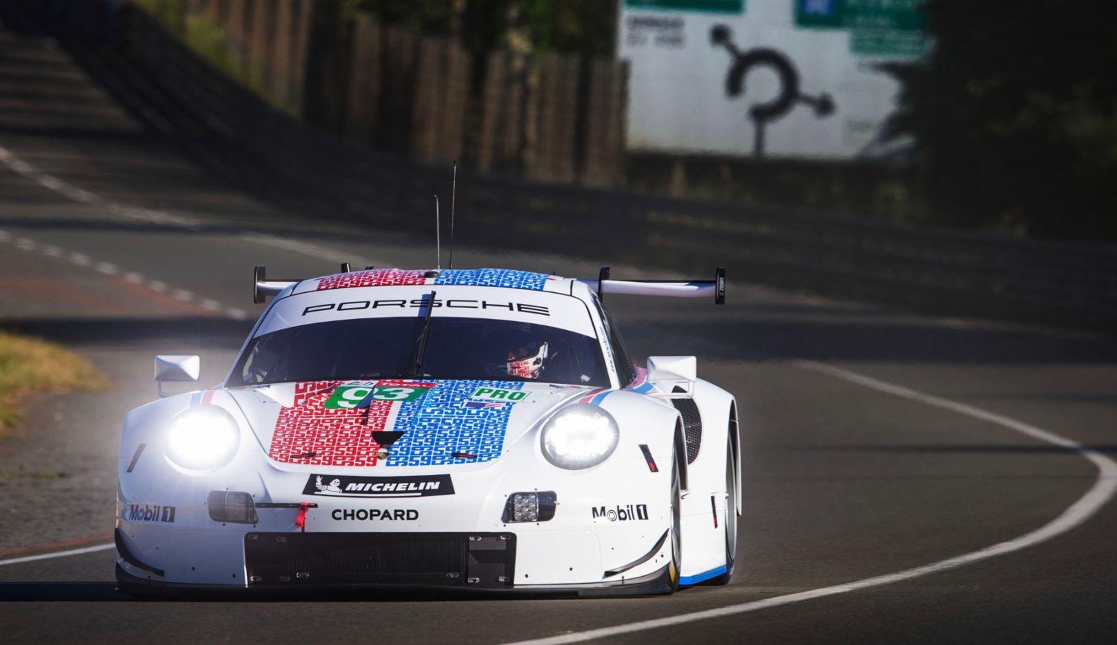 911 RSR, Porsche GT Team (93), Vortests zu den 24 Stunden von Le Mans, 2019, Porsche AG