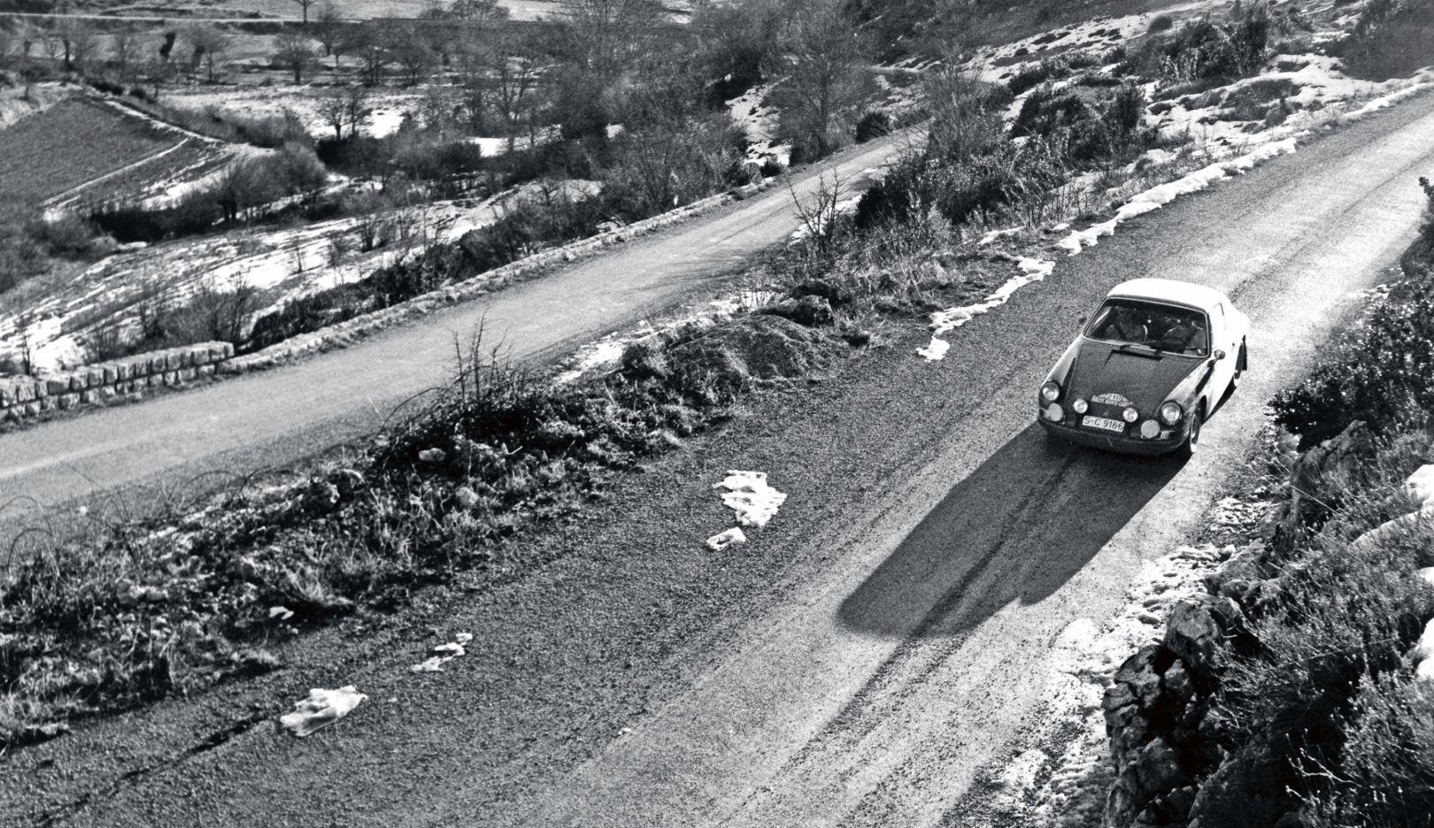 911 T, 37. Rallye Monte-Carlo, 1968, Porsche AG