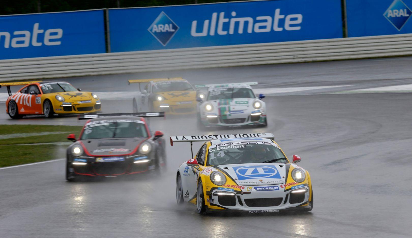Porsche Carrera Cup Deutschland, Hockenheimring 2015, Porsche AG