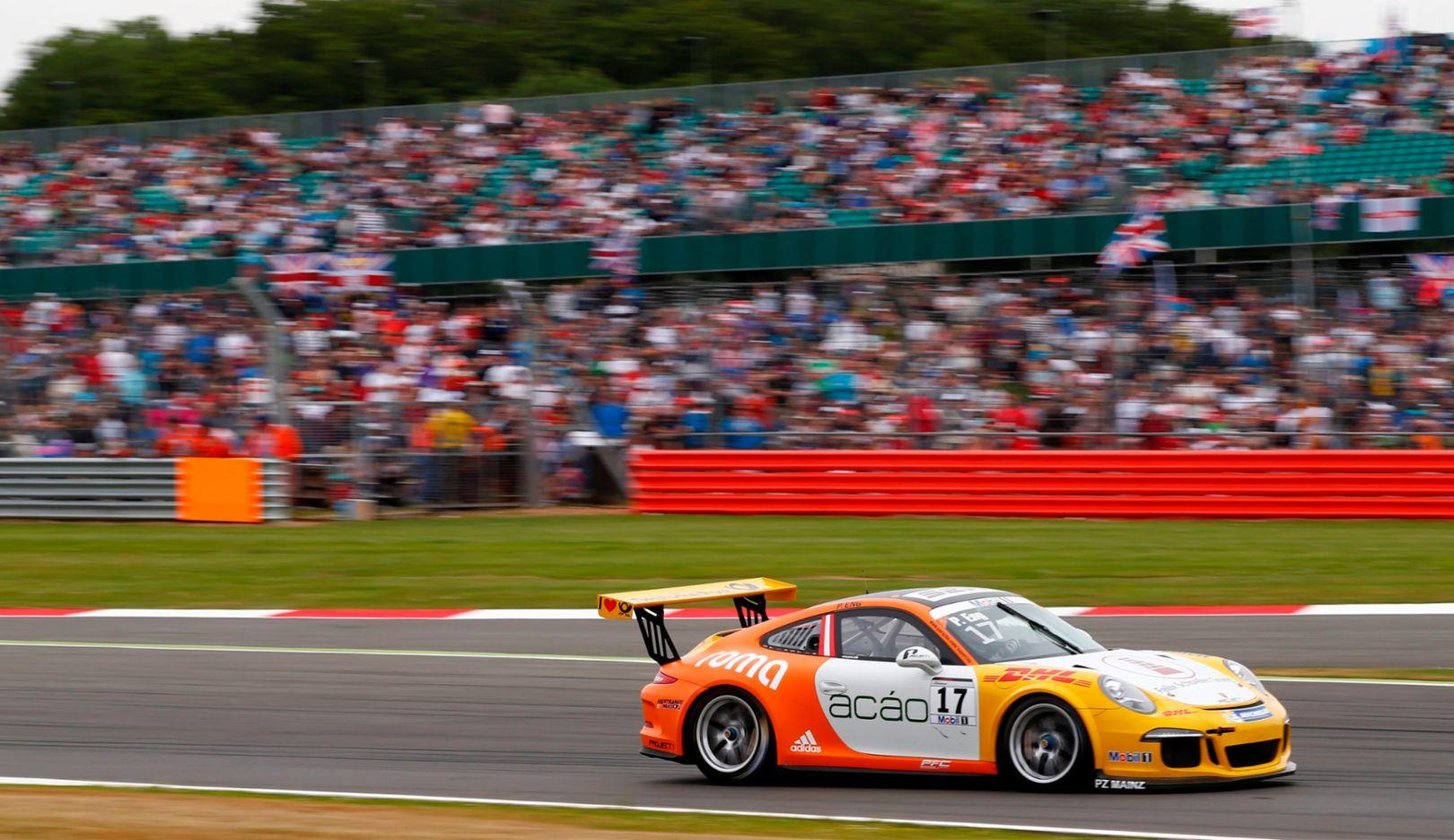 Philipp Eng, Porsche Mobil 1 Supercup, Silverstone 2015, Porsche AG