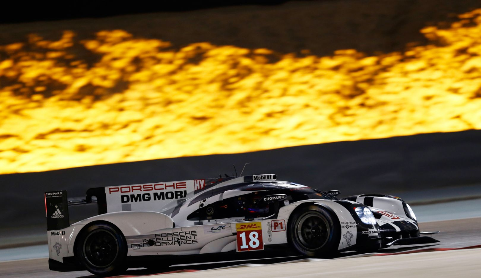 Porsche 919 Hybrid, Bahrain International Circuit, 2015, Porsche AG