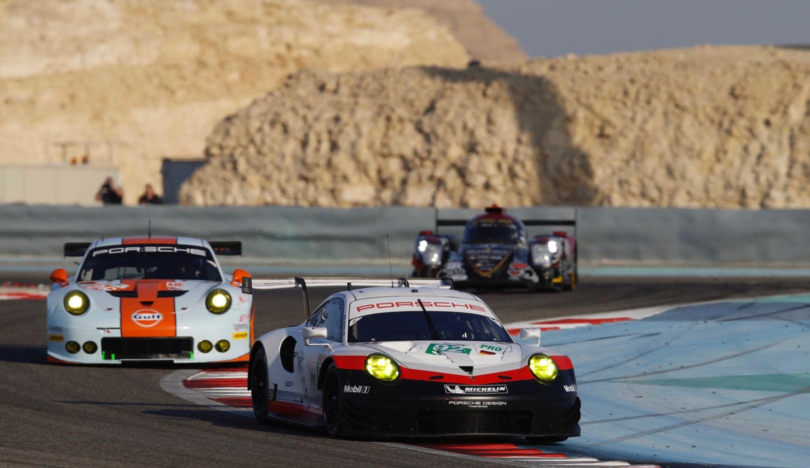 911 RSR, WEC, Bahrain, practice, 2017, Porsche AG