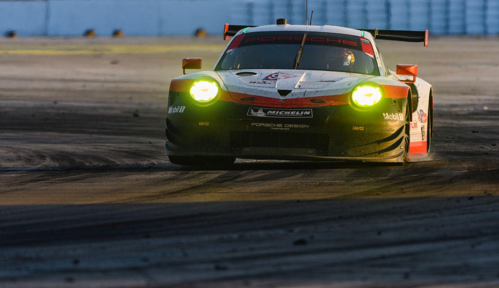 911 RSR, IMSA SportsCar Championship, Sebring, USA, 2017, Porsche AG