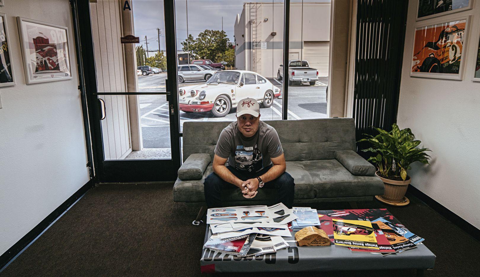 Nicolas Hunziker, 911 T, Atelier, Los Angeles, USA, 2017, Porsche AG