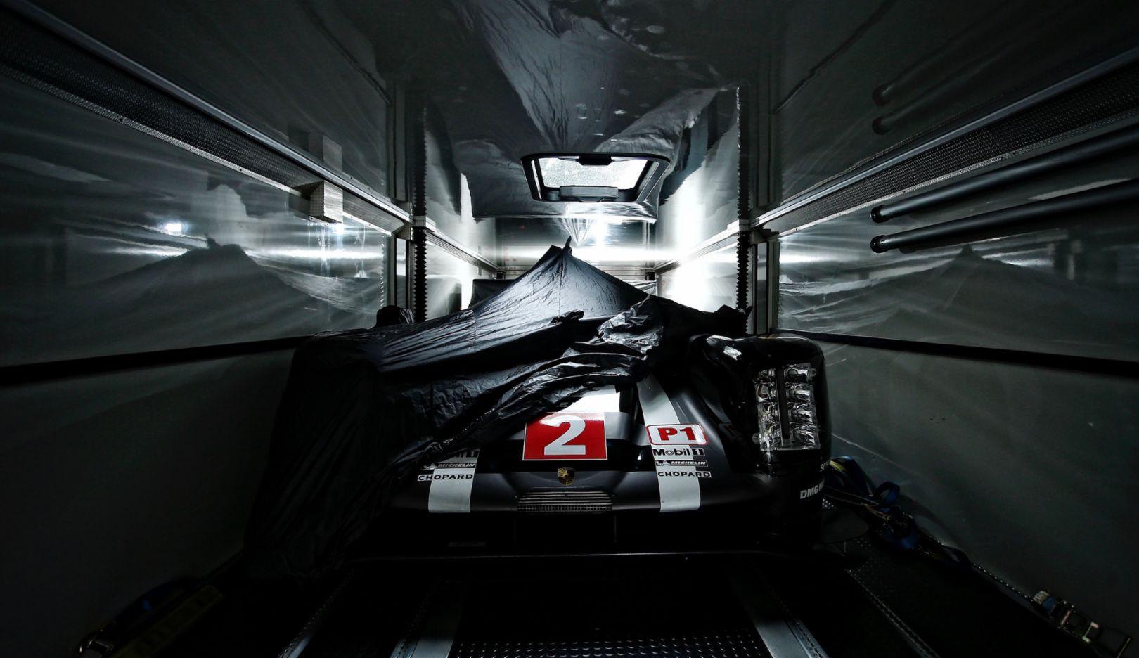 Porsche 919 Hybrid, Technische Abnahme, WEC, Le Mans, 2016, Porsche AG