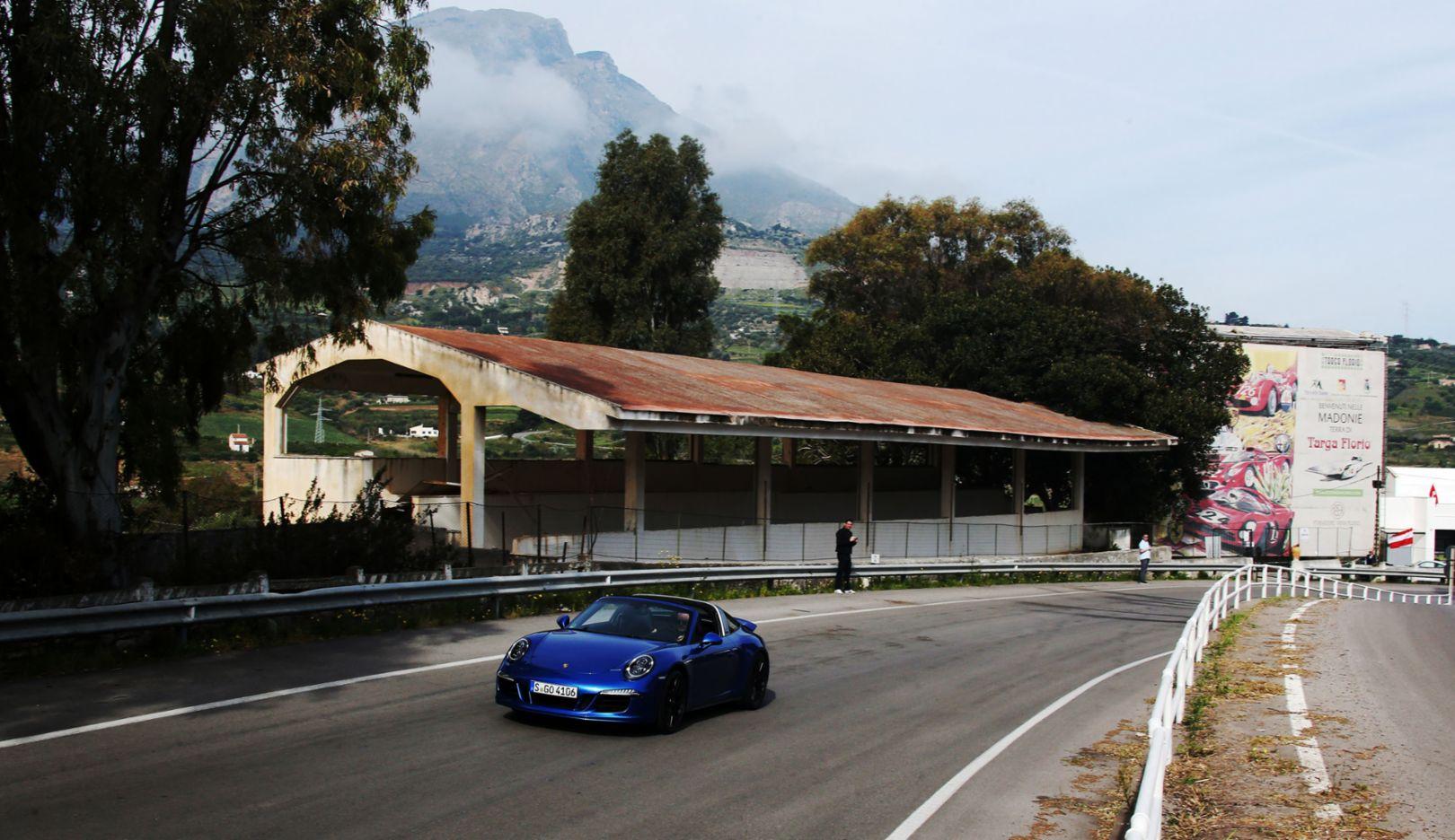 911 Targa 4 GTS, Porsche GTS Experience, Targa Florio, 2015, Porsche AG