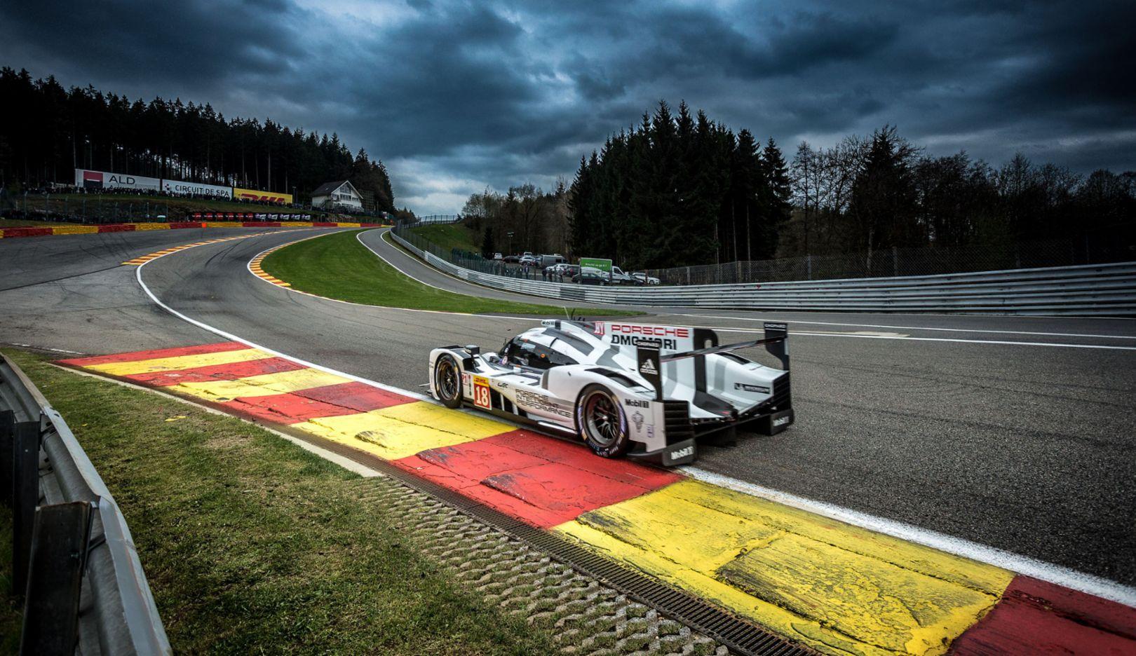 Porsche 919 Hybrid, Porsche Team, Spa 2015, Porsche AG