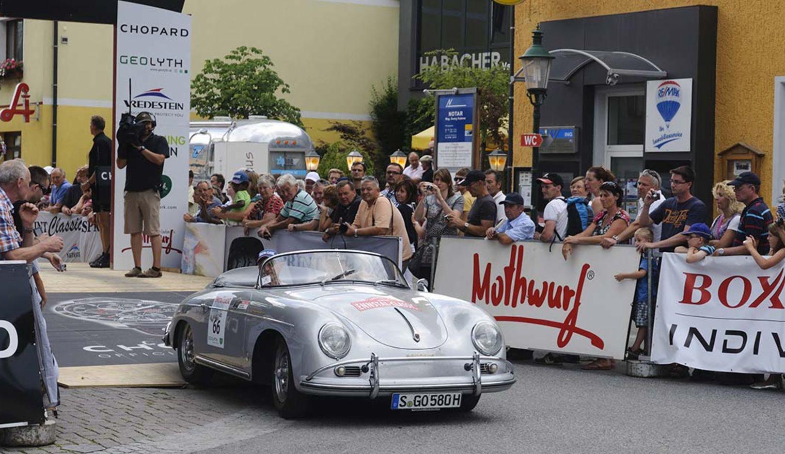 356 B 2000 GS Carrera 2 Cabrio, Ennstal Classic, 2014, Porsche AG