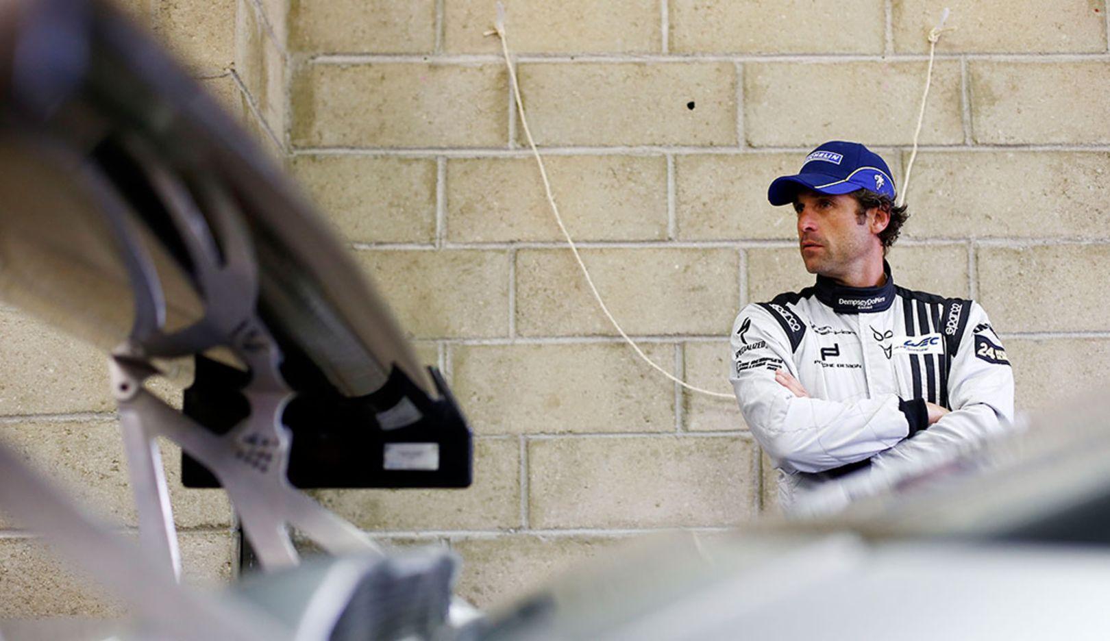 Patrick Dempsey, Rennfahrer, 2014, Porsche AG