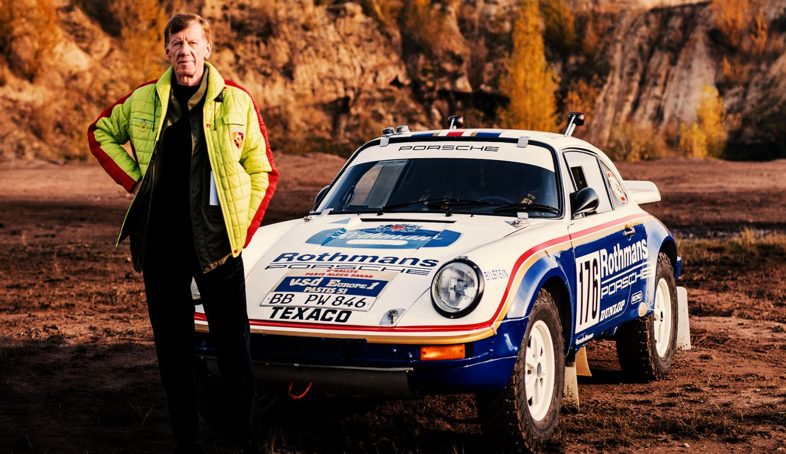 Beyond the comfort zone: Walter Röhrl and the top 5 rally cars