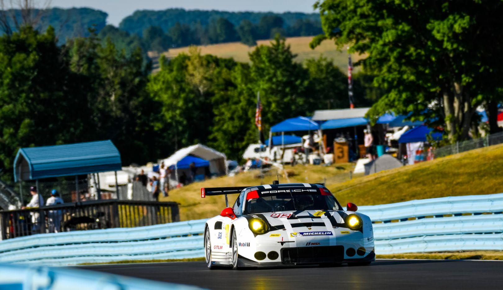 Porsche 911 RSR, Watkins Glen, IMSA WeatherTech SportsCar Championship, 2016, Porsche AG