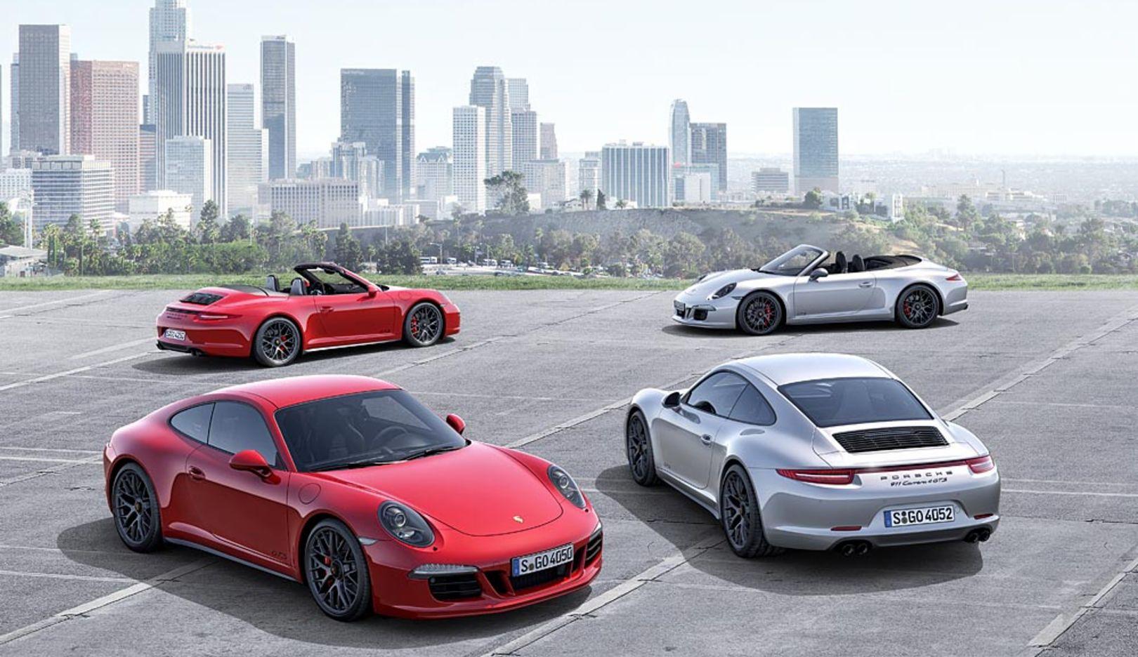 911 Carrera GTS Coupé, 911 Carrera GTS Cabriolet, 2014, Porsche AG