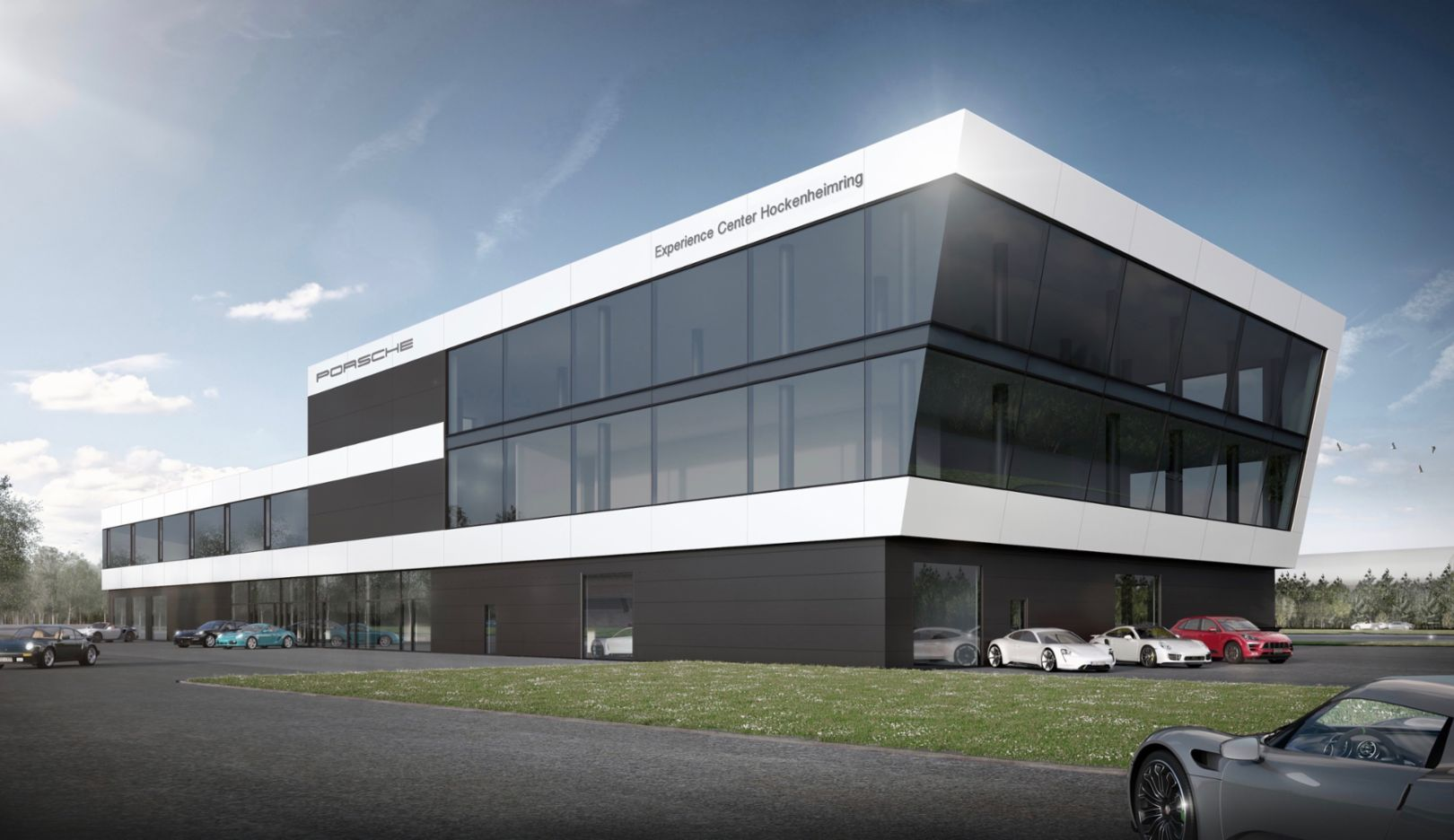 Porsche Experience Center >> Topping Out Ceremony For Porsche Experience Centre At The