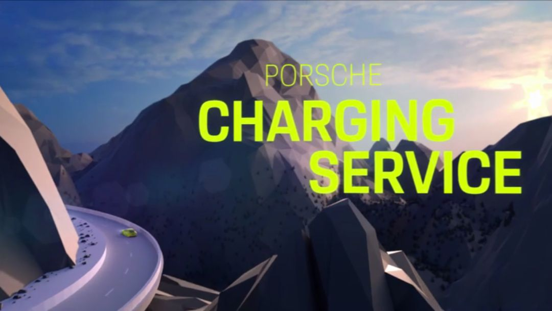"This is the ""Porsche Charging Service"""