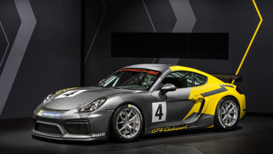 The Cayman GT4 Clubsport
