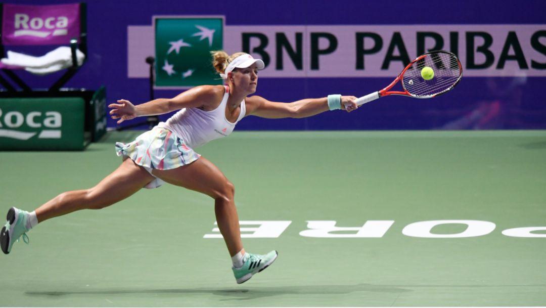 WTA-Finale: Kerber weiter auf Erfolgskurs