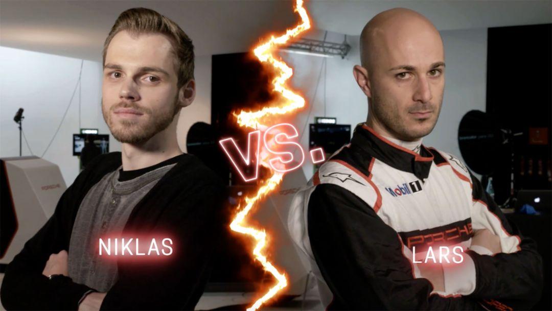 Porsche eSports: Niklas Krellenberg vs. Lars Kern