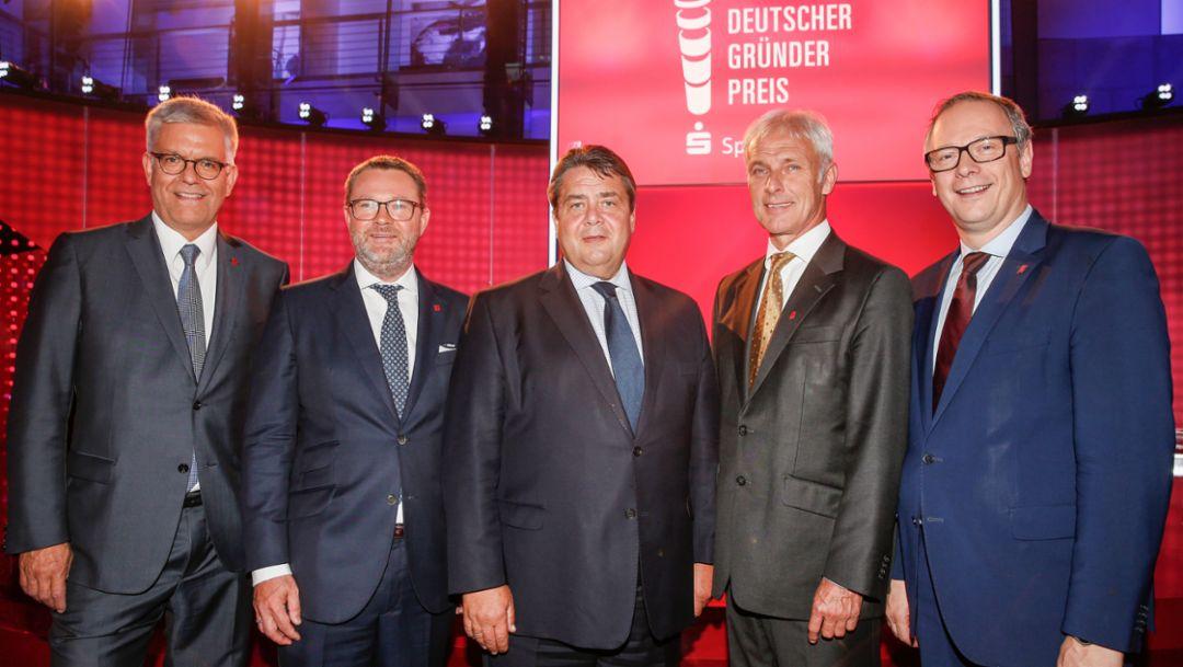 Deutscher Gründerpreis 2015