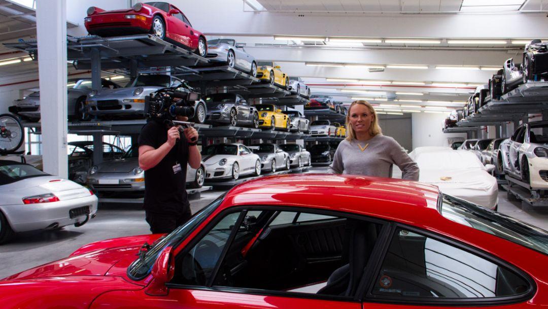 Behind the Scenes with Caroline Wozniacki
