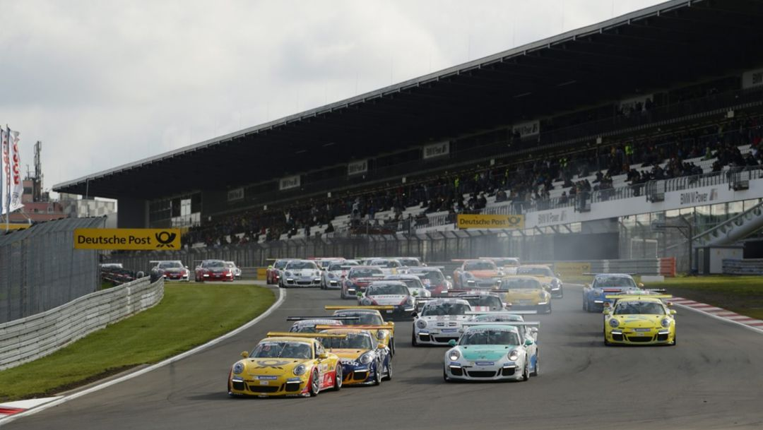 Porsche Carrera Cup at the Nürburgring