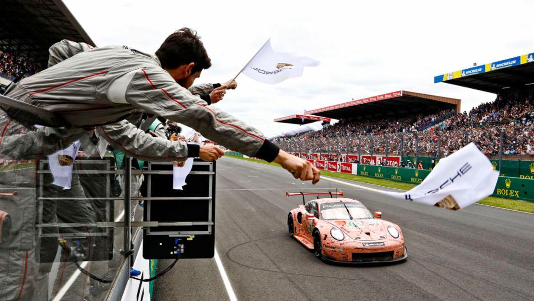 911 RSR, гонка, Ле-Ман, 2018, Porsche AG