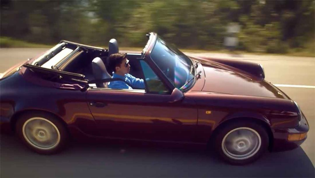 A story of a father, son, and their Porsche 964
