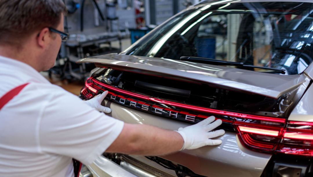 Panamera: Production completely in Leipzig