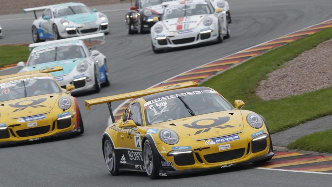 Porsche Carrera Cup Deutschland, Sachsenring, Day 2: Team competition
