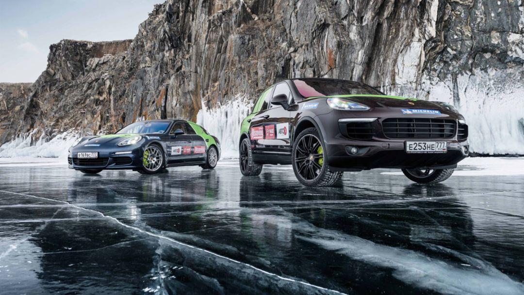 Hybrid-Technologie von Porsche: Kälteerprobt
