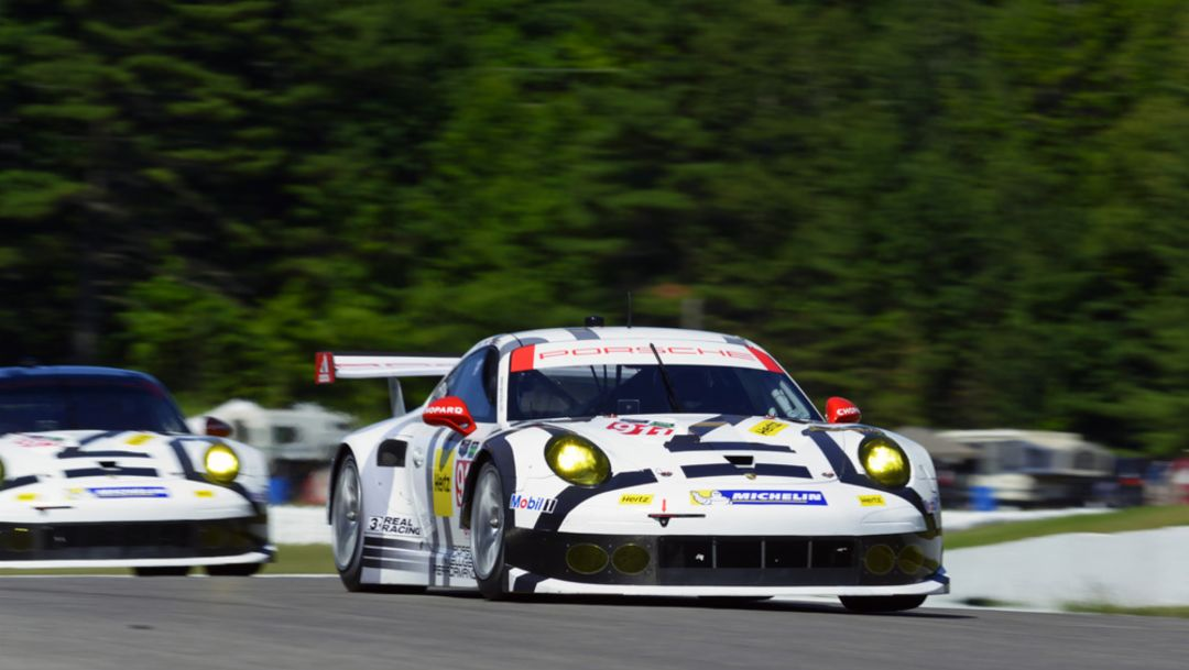 911 RSR finishes fifth