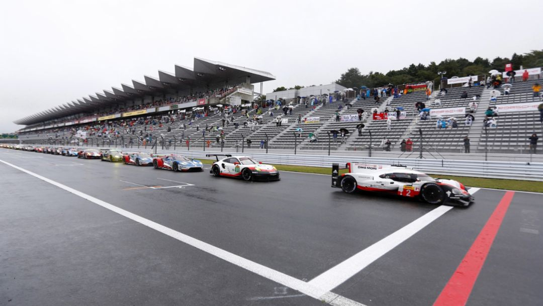 WEC, Fuji, Rennen, 2017, Porsche AG