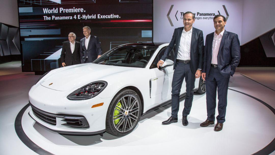Porsche at the L.A. Auto Show