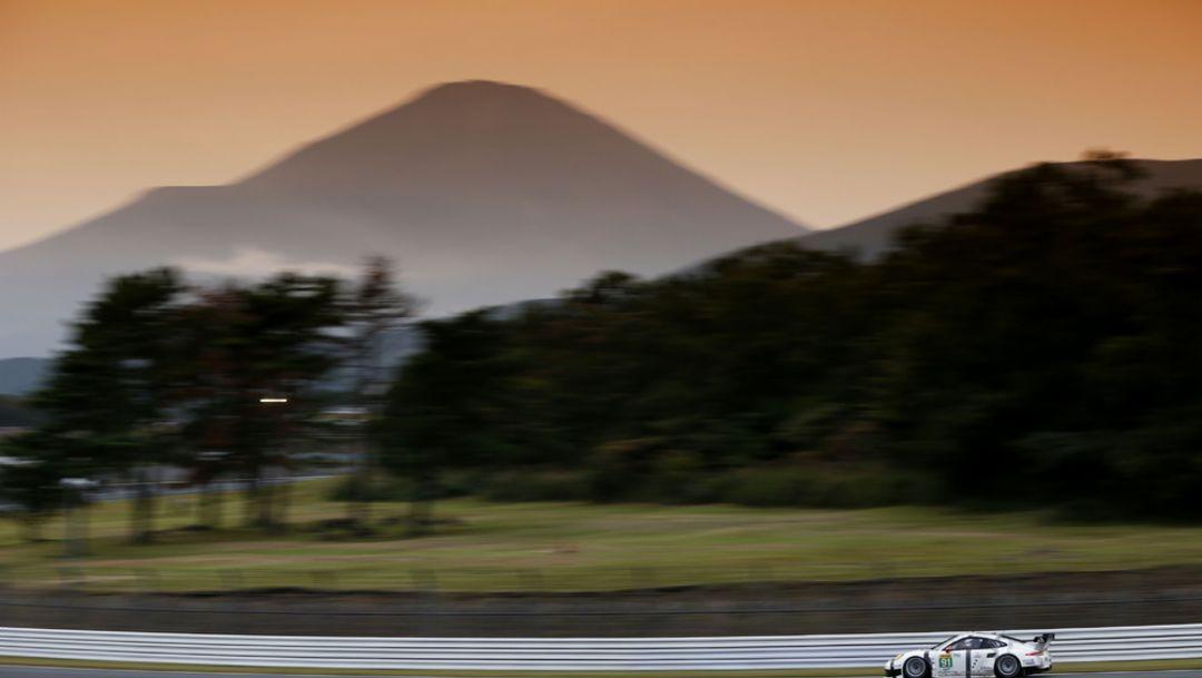 Coming back to Fuji