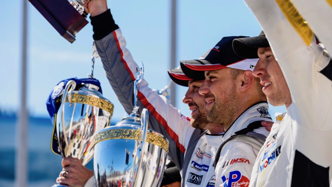 Porsche extends championship lead with second win of the season