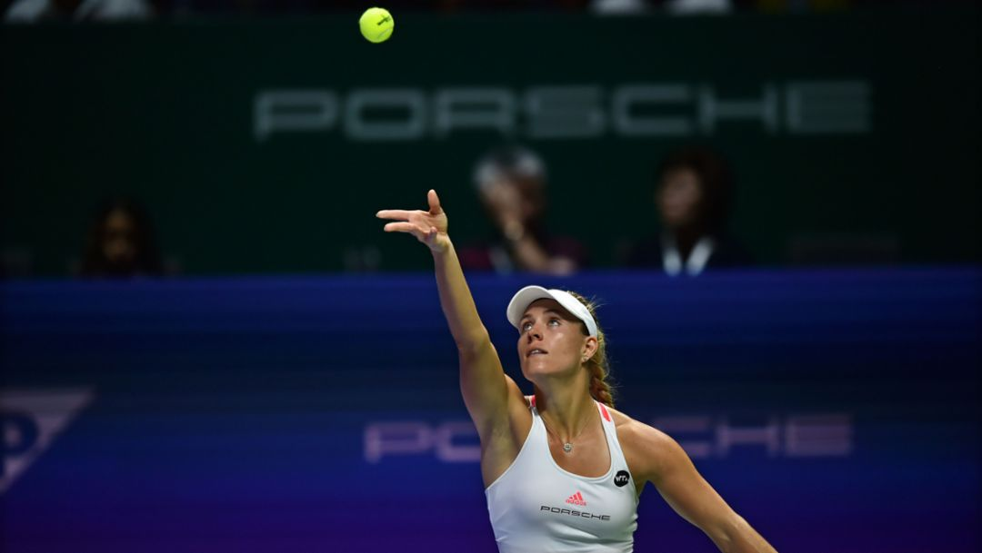 Kerber one match away from crowning season