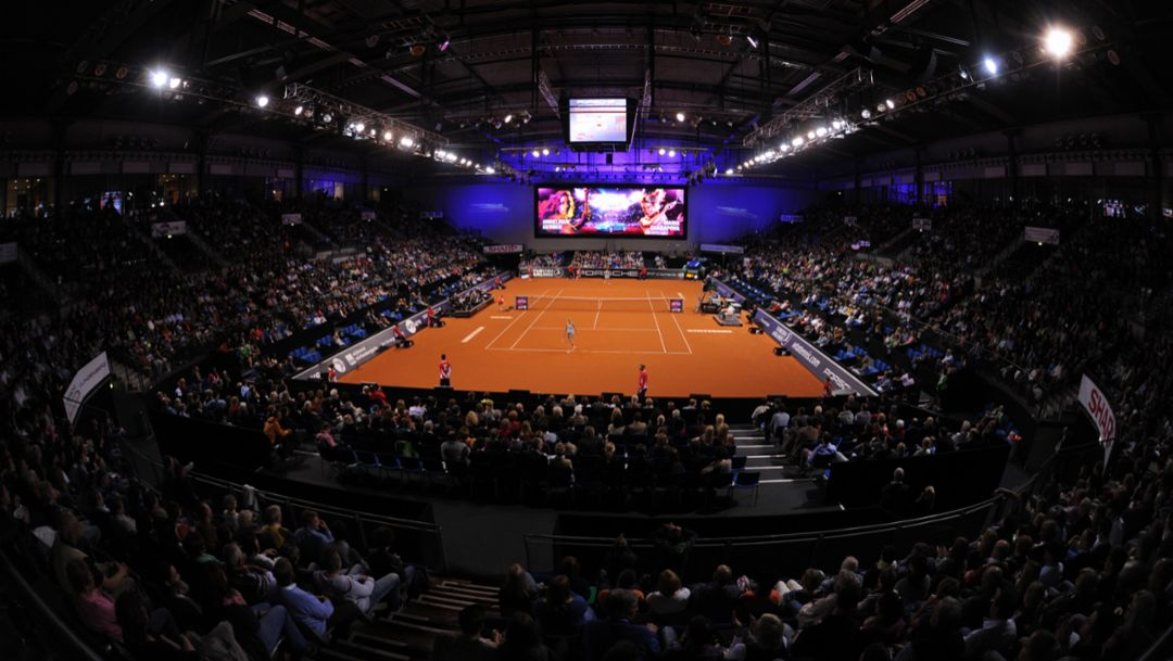 World class tennis in the Porsche Arena