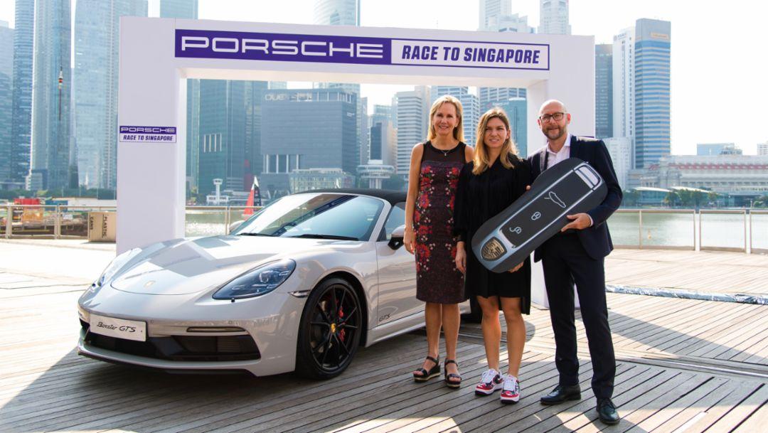 Porsche verlängert erfolgreiche Partnerschaft mit WTA