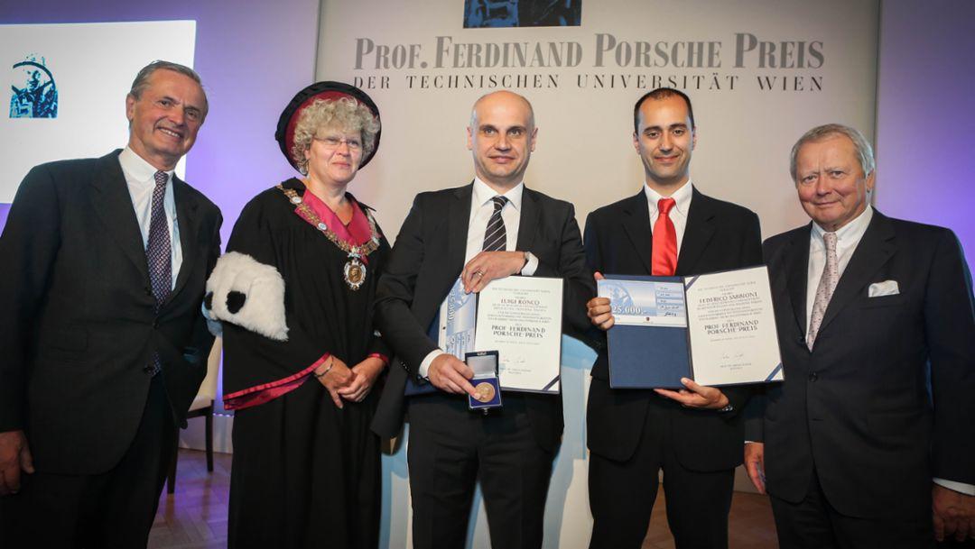 Professor Ferdinand Porsche Preis verliehen