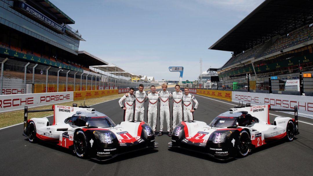 Porsche LMP Team, 919 Hybrid, Le Mans, 2017, Porsche AG