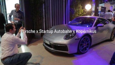 Startup Autobahn und Kopernikus, 2019, Porsche AG