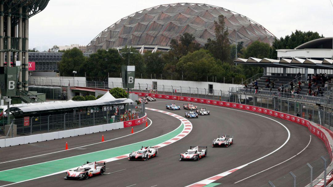 919 Hybrid, WEC, race, Mexico City, 2017, Porsche AG
